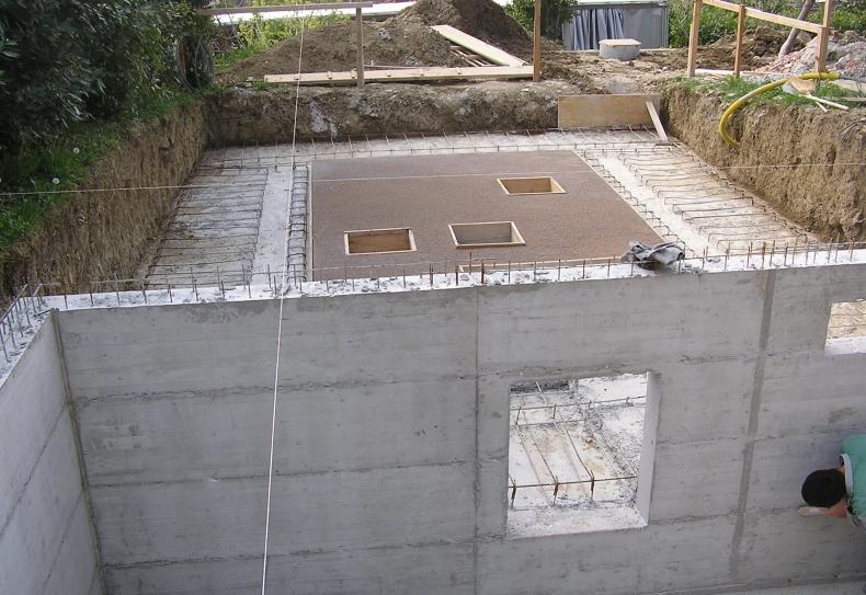 betonska konstrukcija za bazen