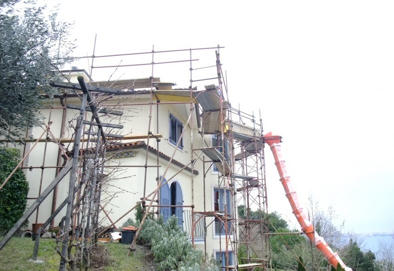 Nova strešna izolacija hiše v Piranu