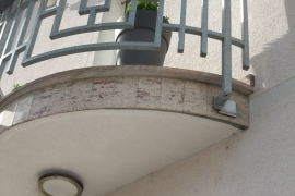 rob krožnega balkona