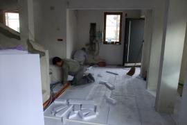 toplotna izolacija tlakov pred cementnimi estrihi