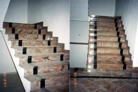 notranje granitne stopnice