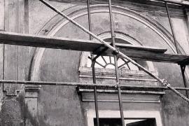 pred sanacijo profilirane fasade