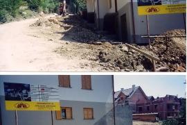 urejanje okolice vrstnih hiš