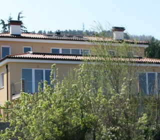 Fasada družinske hiše v Kopru