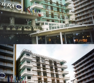 v času izvedbe fasade