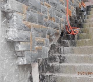 Hidroizolacija zunanjega stopnišča