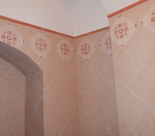 Obloga sanitarij v starem Piranu