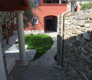 urejeno notranje dvorišče