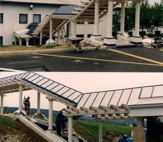 dokončan dostop po stopnicah
