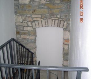 končano notranje stopnišče