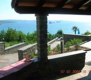 pogled proti morju